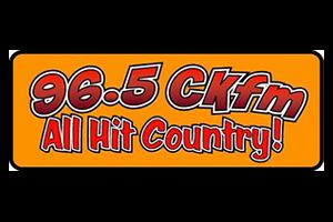 96 5 CKFM logo