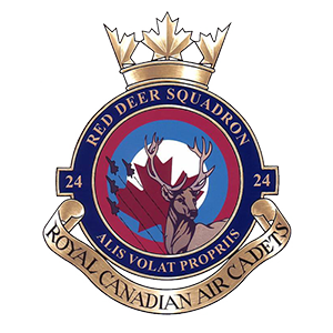 24 Red Deer Royal Canadian Air Cadet Squadron crest